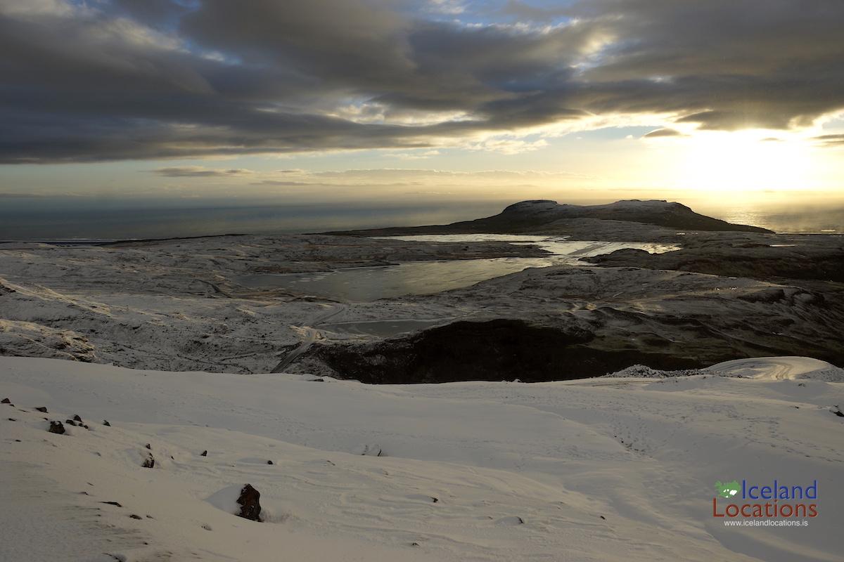 Vatnajokull_Sunset