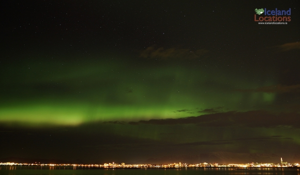 When can the Northern Lights be seen?